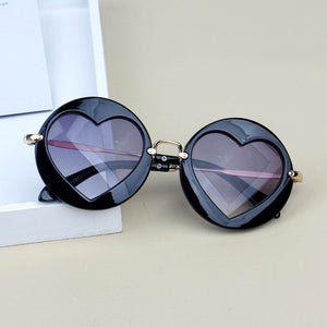 Heart Shaped Sunglasses - Kids Shoe Shack