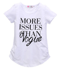 Load image into Gallery viewer, More Issues Than Vogue T-Shirt - Kids Shoe Shack