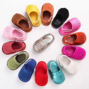 Sofia Fringe Sandals - Kids Shoe Shack