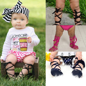 Alexa Gladiator Sandals - Kids Shoe Shack