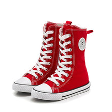 Load image into Gallery viewer, Phoenix Hightop Canvas Sneakers - Kids Shoe Shack