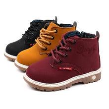 Load image into Gallery viewer, Payton Hightop Boots - Kids Shoe Shack
