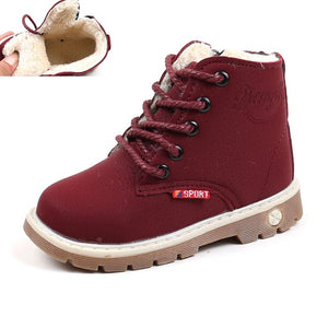 Payton Hightop Boots - Kids Shoe Shack