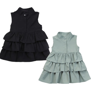 Princess Layered Ruffled Dress - Kids Shoe Shack