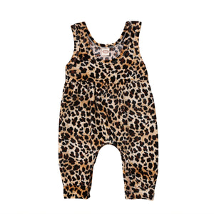 Leopard Jumpsuit - Kids Shoe Shack