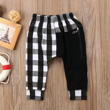 Load image into Gallery viewer, Plaid Harem Pants - Kids Shoe Shack
