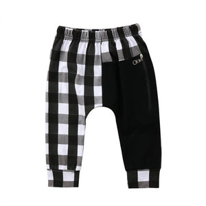 Plaid Harem Pants - Kids Shoe Shack