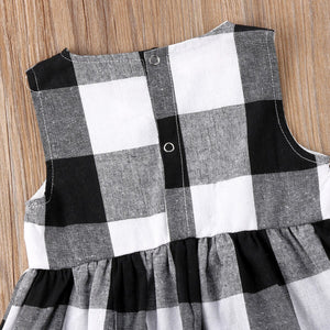 Sleeveless Plaid Shirt - Kids Shoe Shack