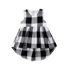 Load image into Gallery viewer, Sleeveless Plaid Shirt - Kids Shoe Shack