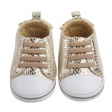 Load image into Gallery viewer, Casey Shiny Hightop Shoes - Kids Shoe Shack