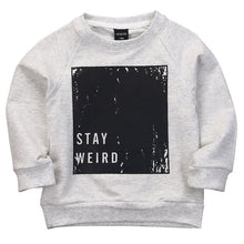 Load image into Gallery viewer, Stay Weird Sweatshirt - Kids Shoe Shack