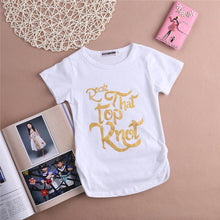 Load image into Gallery viewer, Rock That Top Knot T-Shirt - Kids Shoe Shack