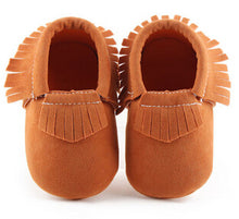 Load image into Gallery viewer, Suede Moccasins - Kids Shoe Shack