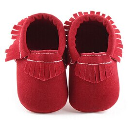 Suede Moccasins - Kids Shoe Shack