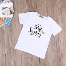 Load image into Gallery viewer, Big Sister, Little Brother T-Shirt - Kids Shoe Shack