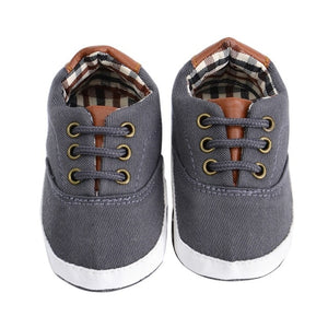Carlton Canvas Sneaker - Kids Shoe Shack