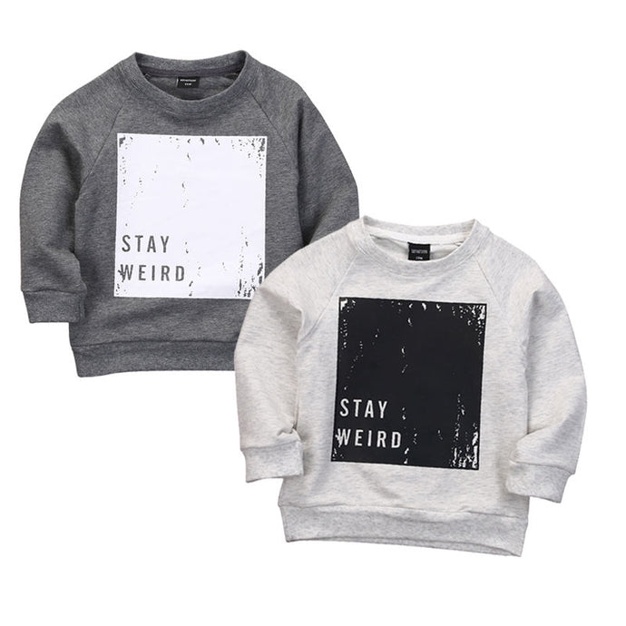 Stay Weird Sweatshirt - Kids Shoe Shack