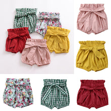 Load image into Gallery viewer, Bow Knot Belt Bloomers - Kids Shoe Shack