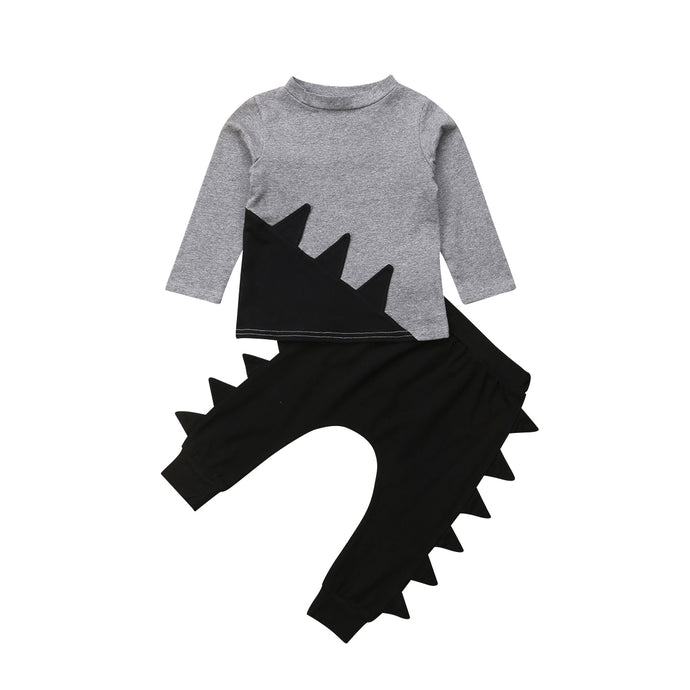 Dinosaur Harem Pants Set - Kids Shoe Shack