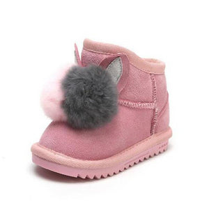 Aria Leather Snow Boots - Kids Shoe Shack