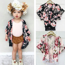 Load image into Gallery viewer, Floral Kimono Shirt - Kids Shoe Shack