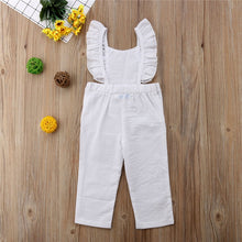 Load image into Gallery viewer, Ruffled Backless Jumpsuit - Kids Shoe Shack