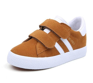 Aiden Casual Suede Sneaker - Kids Shoe Shack