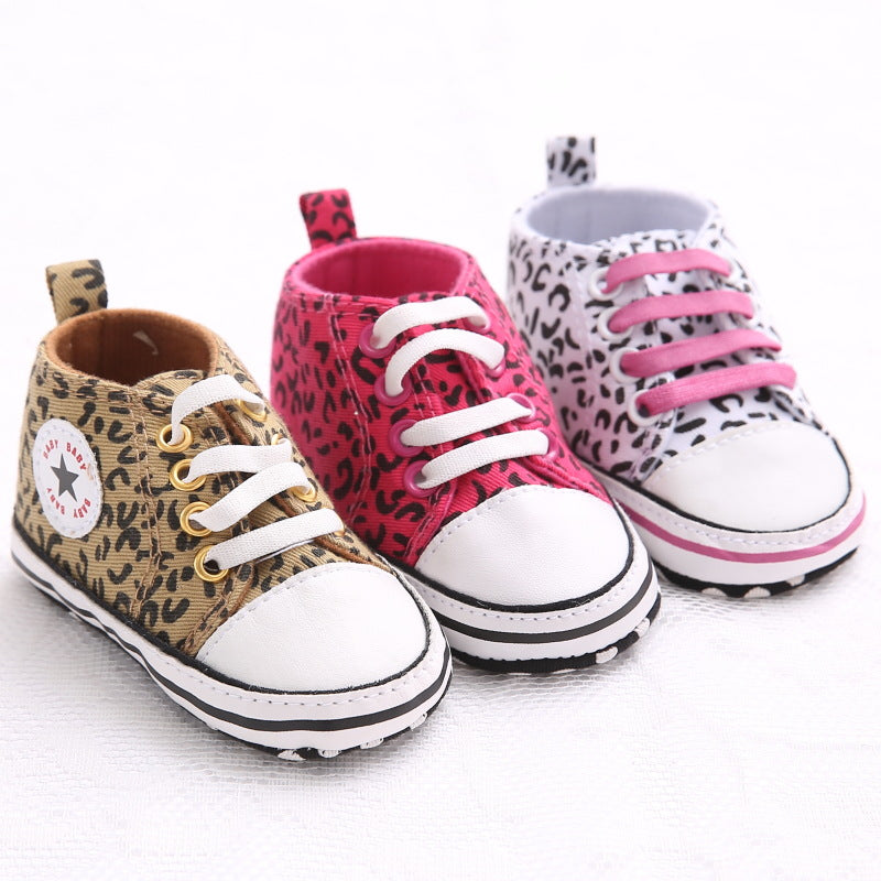 Ainsley Leopard Shoes - Kids Shoe Shack