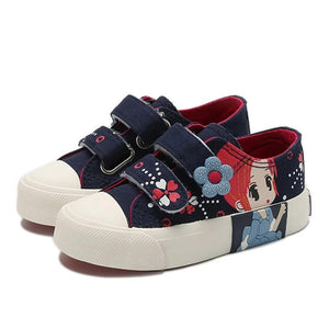 Princess Canvas Sneakers - Kids Shoe Shack
