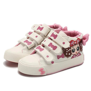 Peggy Canvas Hightops - Kids Shoe Shack