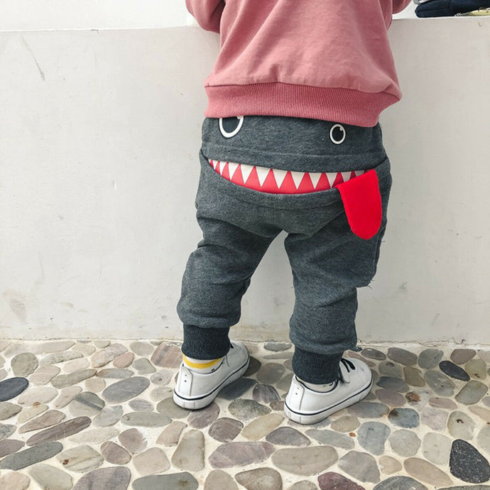 Big Mouth Monster Pants - Kids Shoe Shack