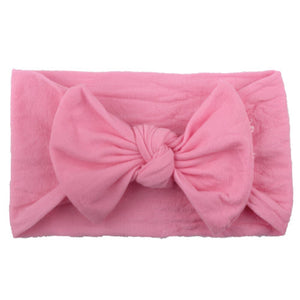 Big Bow Headwrap - Assorted Colours - Kids Shoe Shack