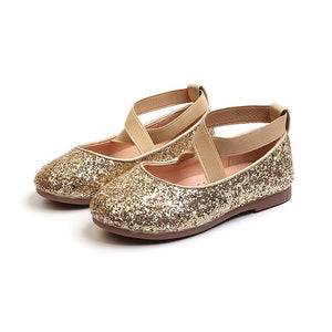 Amelia Glitter Princess Shoes - Kids Shoe Shack