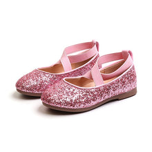 Load image into Gallery viewer, Amelia Glitter Princess Shoes - Kids Shoe Shack