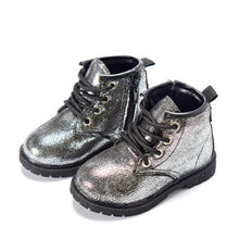 Load image into Gallery viewer, Haley Glitter Ankle Boots - Kids Shoe Shack