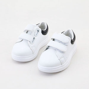 Corey Striped Rubber Sneakers - Kids Shoe Shack