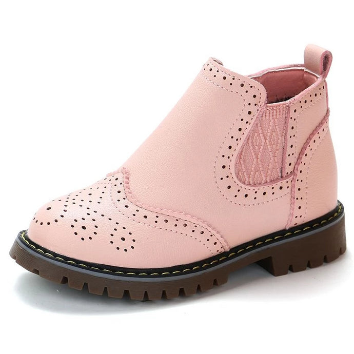 Candice Faux Leather Boots - Kids Shoe Shack