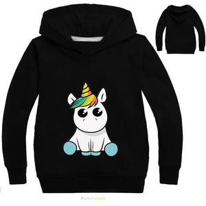 Baby Rainbow Unicorn Hoodie - Kids Shoe Shack