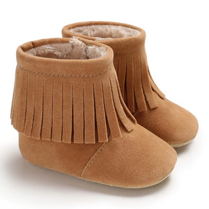 Blake Tassel Booties - Kids Shoe Shack