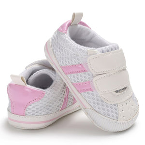 Stiped Canvas Sneakers - Kids Shoe Shack