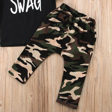 Load image into Gallery viewer, Swag Camo Pants Set - Kids Shoe Shack