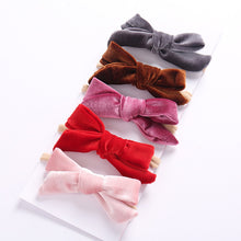 Load image into Gallery viewer, Velvet Headbands - Little Princess - Kids Shoe Shack