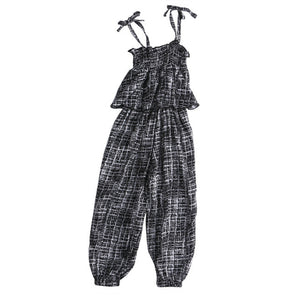 Black Halter Jumpsuit - Kids Shoe Shack