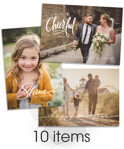 10 New Year Overlays