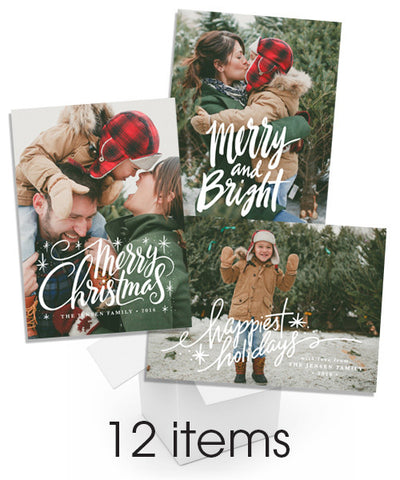 12 Days of Christmas Overlays
