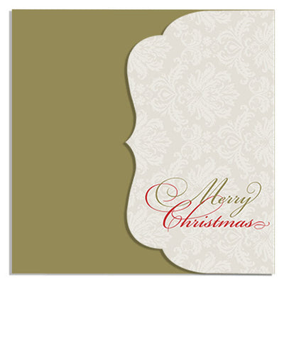 Formal Affair 5x5 Side Folded Luxe Card & Address Label