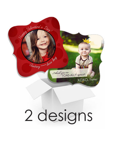 Lady Bug and Toad 3x3 Ornate Luxe Card Valentine Mini Bundle