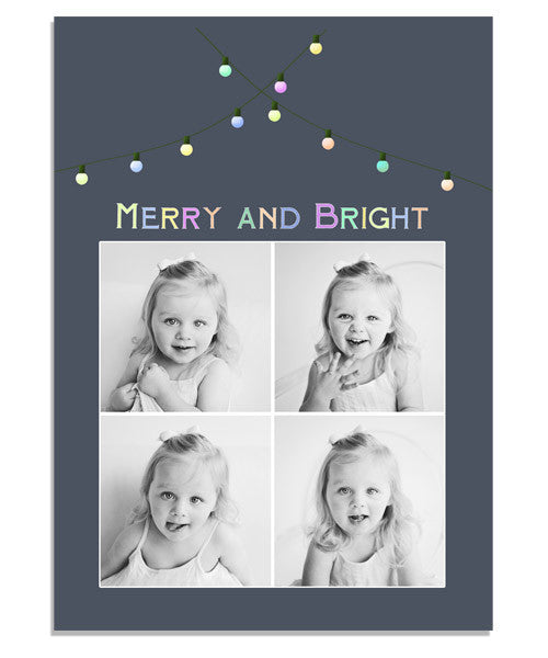 Lights 5x7 Flat Card and Envelope Liner