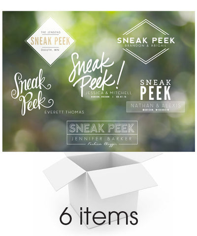 Sneak Peek Overlays