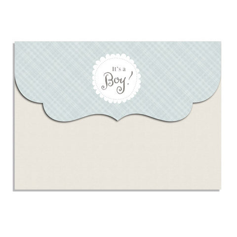 Perfectly Plaid 7x5 Top Folded Luxe Card